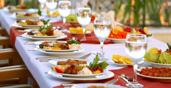 Hiring caterers for corporate events